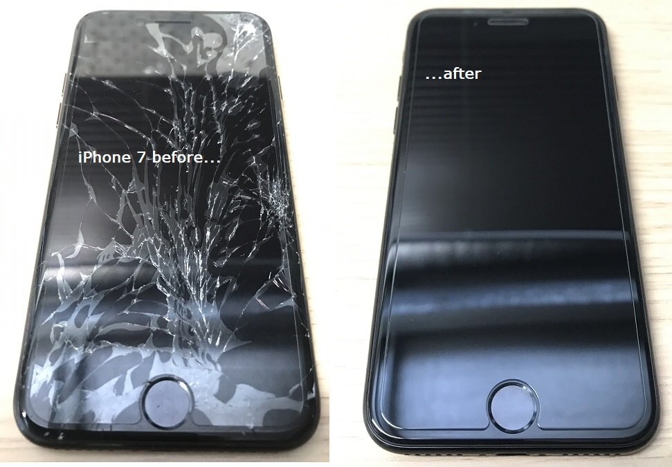 iPhone 7 Before and After